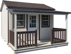 Premium Cottage Shed with Porch