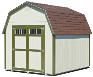 Green premium barn shed, Red Bluff CA