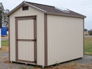 tan shed Red Bluff